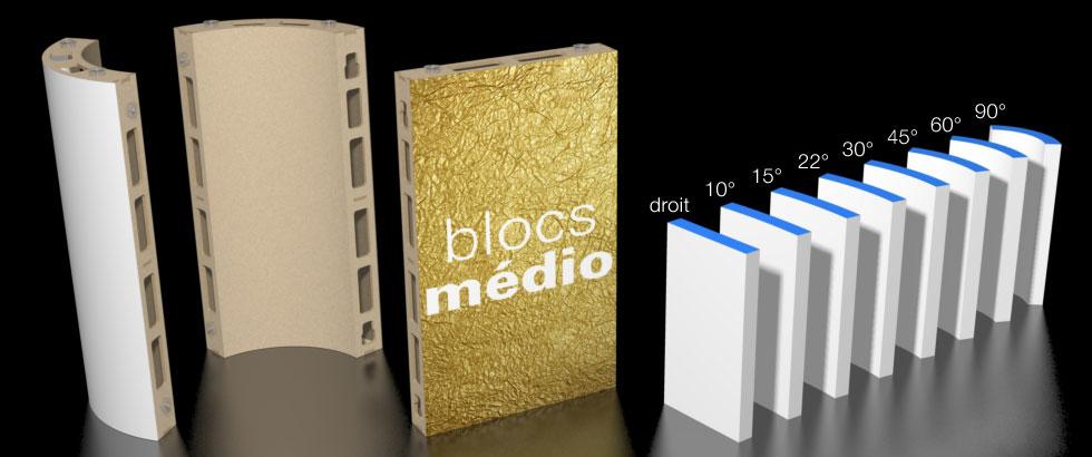 bloc médio standard eurosystems