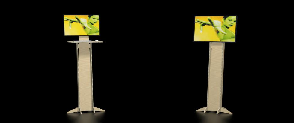 support écran bio LCD eurosystems